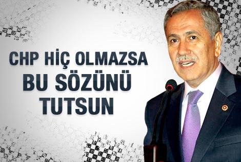 Arınç'tan CHP'ye Anayasa Mahkemesi cevabı