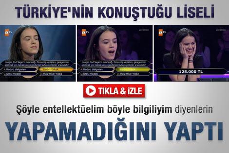 Türkiye liseli Ceylan'ın performansını konuşuyor - Video