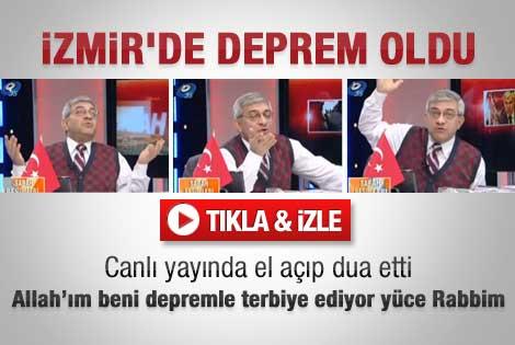 İzmir depremine öyle bir tepki verdi ki - Video