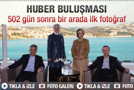 Gül ve Erdoğan çifti 502 gün sonra bir arada poz verdi