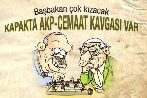 AK Parti ve Cemaat Gırgır kapağında