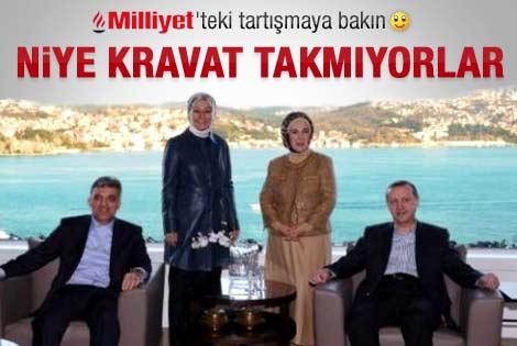 Erdoğan ve Gül neden kravat takmıyor