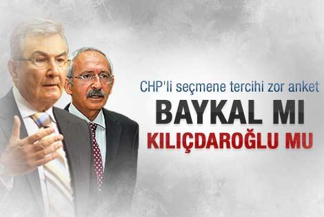 CHP'li seçmene soruldu: Baykal mı Kılıçdaroğlu mu