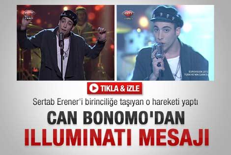 Bonomo İlluminati mesajı verdi iddiası