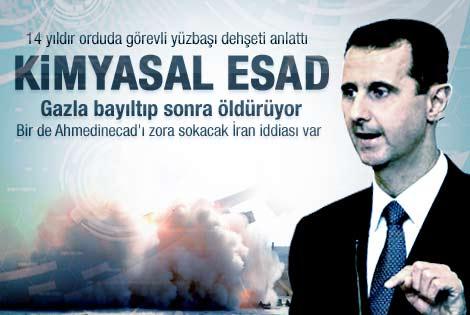 Esad kimyasal silah kullanıyor