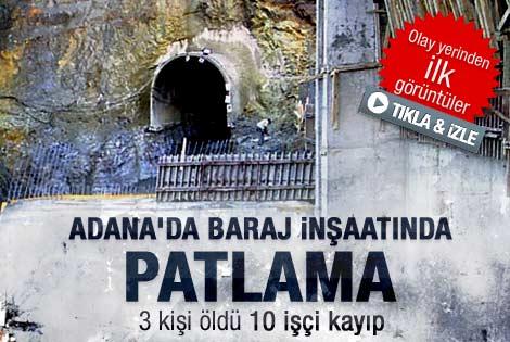 Adana'da inşaat çöktü: 3 kişi hayatını kaybetti