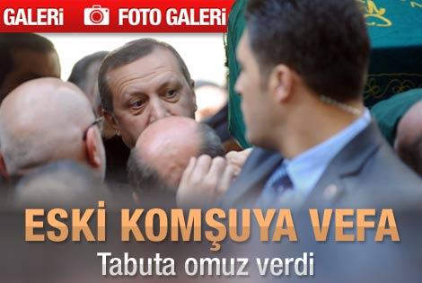 Erdoğan İsmail Bayramoğlu'nun cenaze törenine katıldı