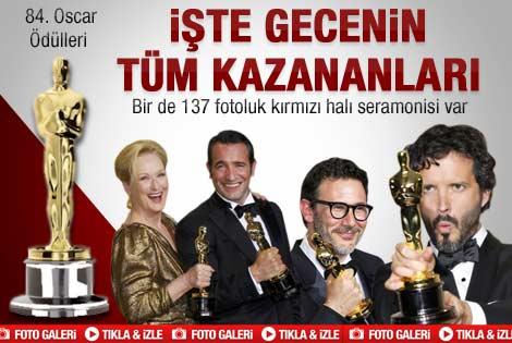Oscar ödülleri sahiplerini buldu - Galeri