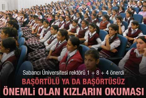 Sabancı Üniversitesi Rektöründen 1+8+4 önerisi