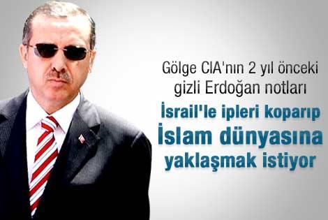 Gölge CIA'nın Erdoğan notları