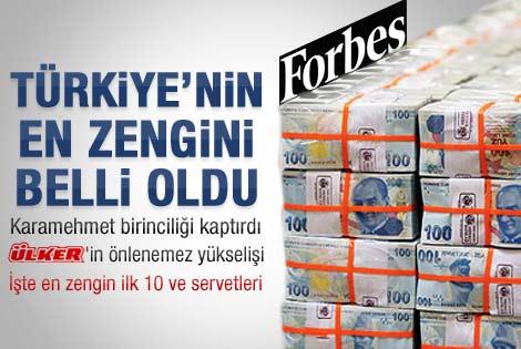Forbes Türkiye'nin en zenginini açıkladı