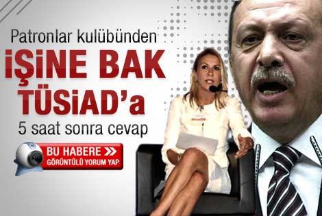 TÜSİAD'dan Erdoğan'a eğitim cevabı