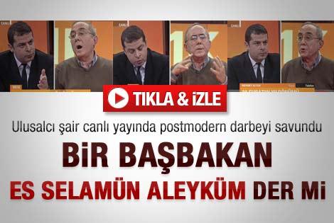Ataol Behramoğlu canlı yayında 28 Şubat'ı savundu