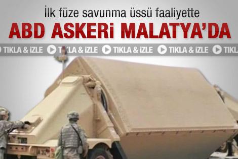 ABD askeri Malatya'da - Video