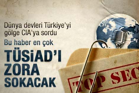 Dev şirketler gölge CIA'dan Türkiye bilgileri almış