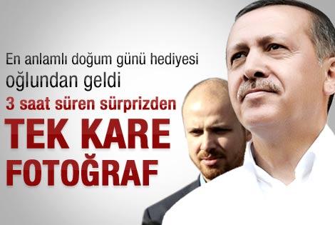 Bilal Erdoğan'dan babasına sürpriz