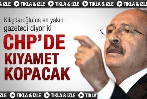 Mutlu: CHP'de daha büyük kıyamet kopacak