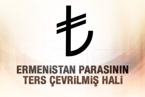 TL sembolü Ermeni para birimi sembolü iddiası