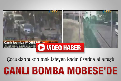 Canlı bomba MOBESE'de - Video