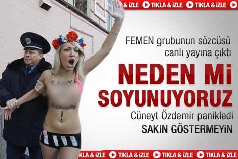 Femen kızları Türkiye'de - Video