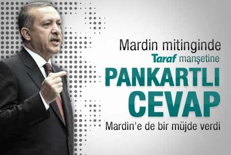 Erdoğan'ın Mardin'deki toplu açılış töreni konuşması