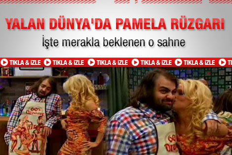 Yalan Dünya'da Pamela Anderson rüzgarı - İzle