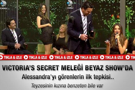 Alessandra Ambrosio Beyaz Show'a konuk oldu - İzle