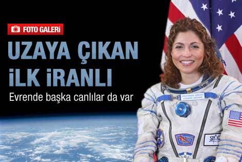 Uzaya çıkan ilk İranlı: Evrende başka canlılar var