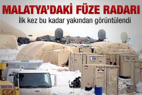 İşte füze radarı