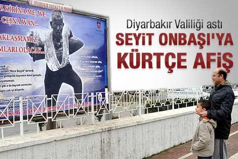 Valilik Kürtçe Çanakkale afişi astı