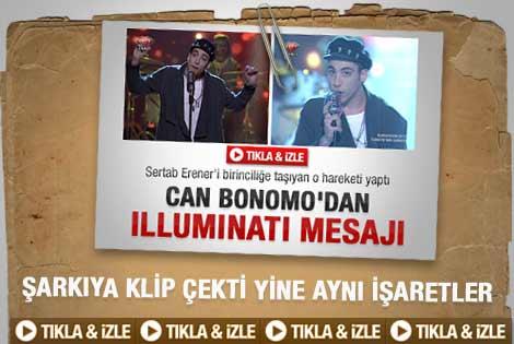 Can Bonomo'nun Eurovision şarkısı klibi