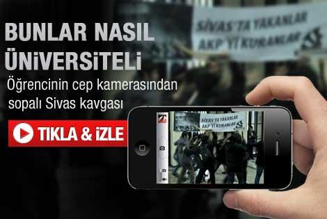 İstanbul Üniversitesi karıştı - Video