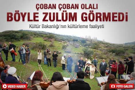 Anadolu Filarmoni Orkestrası'ndan çobana özel konser