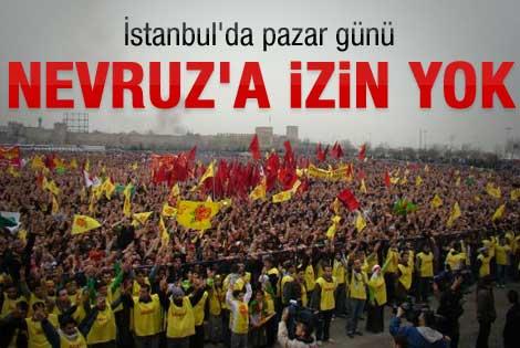 BDP'nin Nevruz talebine valilik engeli