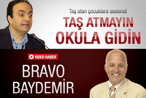 Birand'dan Baydemir'e destek: Bravo Baydemir arkandayız