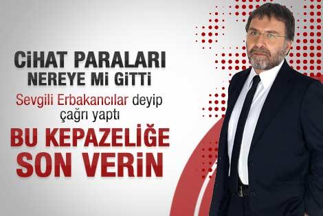 Ahmet Hakan'dan Erbakancılar'a miras çağrısı