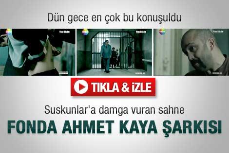 Suskunlar'a damga vuran Ahmet Kaya şarkısı