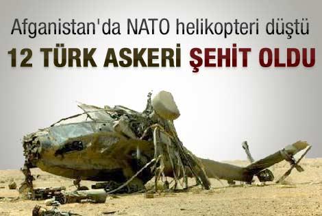 Afganistan'da 8 Türk askeri şehit oldu