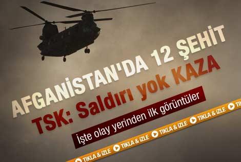 TSK'dan helikopter kazası açıklaması