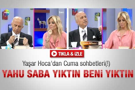 Saba'nın gafı Yaşar Nuri'yi şaşırttı - Video