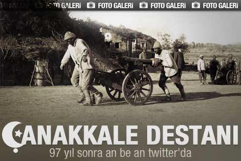 Çanakkale savaşı Twitter'da