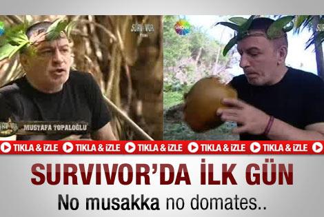 Topaloğlu'nun Survivor'daki ilk günü - Video