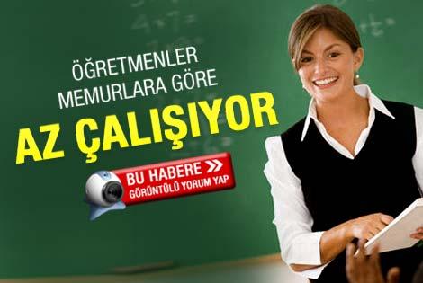 Bakan Dinçer: Öğretmenler az çalışıyor
