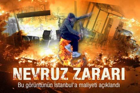 Nevruz'un İstanbul'a zararı ne kadar oldu