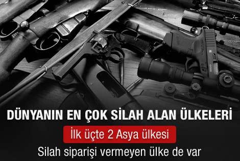 Dünyanın en çok silah alan ülkesi