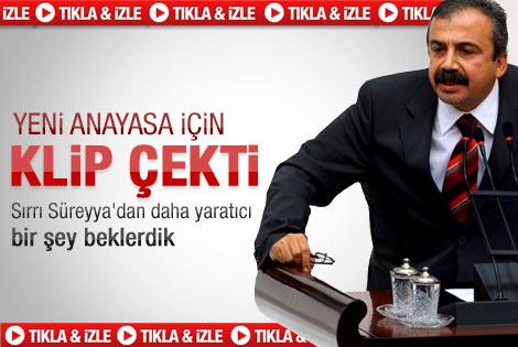 Sırrı Süreyya yeni anayasa için klip çekti - Video