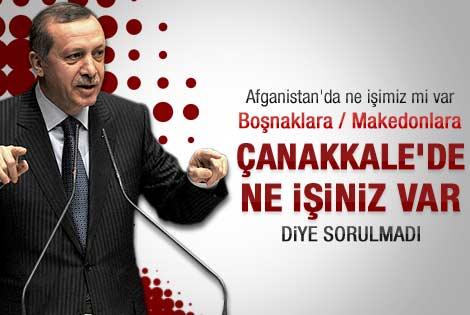 Erdoğan'dan Afganistan'da ne işimiz var diyenlere cevap