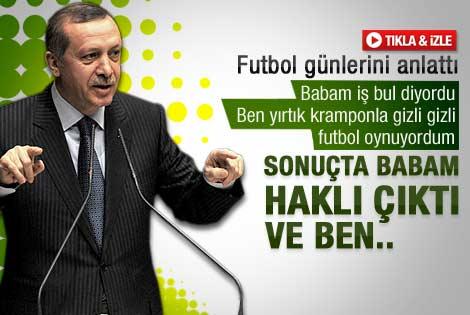 Erdoğan: Kramponlarımı kömürlükte saklardım