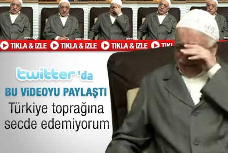 Gülen'in ağladığı video yeniden gündemde
