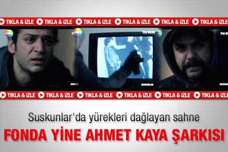 Suskunlar'daki Ahmet Kaya şarkısı yürekleri dağladı
